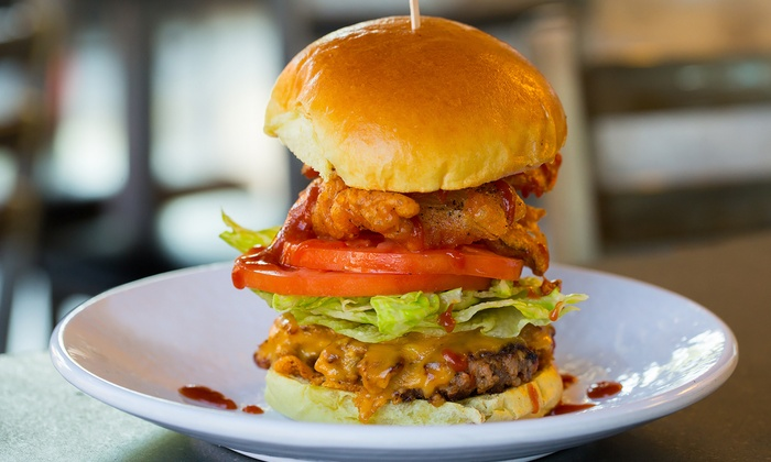 Burger Dive - Somerville: Burgers, Fries, and Shakes for Two or Four at Burger Dive (35% Off)