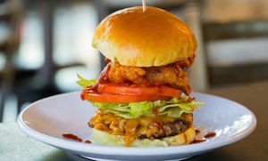 Burger Dive: Burgers, Fries, and Shakes for Two or Four at Burger Dive (35% Off)