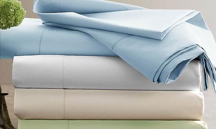 Clearance: Hotel Grand 1000TC Cotton-Rich Sheet Set