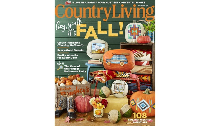 66 Off Country Living Subscription Groupon