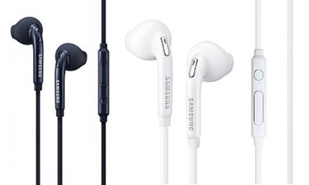 1, 2 o 3 pares de auriculares manos libres Samsung