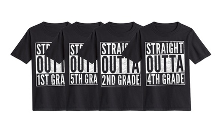 Straight Outta School T-Shirt