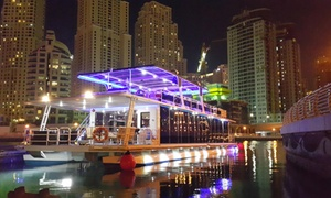 Water World Tourism LLC: Dubai Marina Glass Boat Cruise with Buffet Dinner and Drinks by Water World Tourism (55% Off)