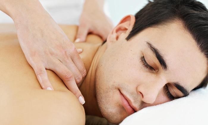 Deep facial massage