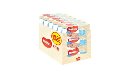 18 Packs of Huggies Baby Wipes