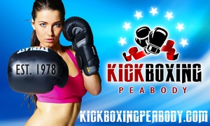Kickboxing Peabody: Up to 68% Off kickboxing classes at Kickboxing Peabody