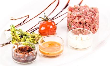 Menu delizie di mare con antipasto, primo e secondo piatto più vino al ristorante Stigusti (sconto fino a 50%)