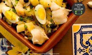 O Bacalhau do Porto: O Bacalhau do Porto – Ipiranga: almoço ou jantar português para 2 pessoas