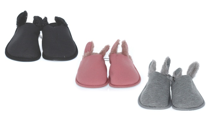 up to 68 off on n demand women s slippers groupon goods