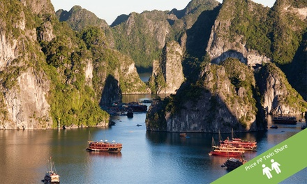Vietnam: $869 Per Person for a 12 Day North to South Tour with Domestic Flight and Cruise with Halong Tours Booking