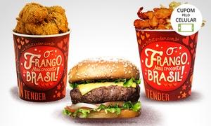 Hot N Tender – BarraShopping: Hot n Tender – BarraShopping: balde de filezinho ou combo de sanduíche + bebida