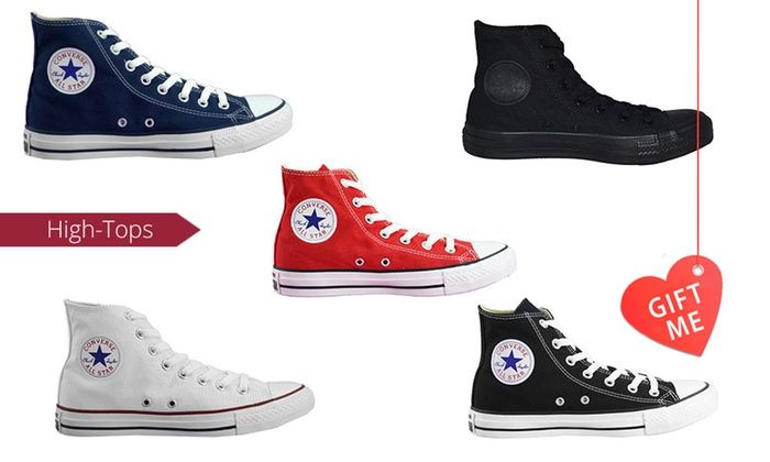 Groupon Goods: $59 for One Pair of Converse Chuck Taylor All-Star High-Tops (Don't Pay $100)