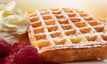 $9 for $12 or $14 for $20 to Spend on Waffles and Cold Drinks at The Rendez Vous Crepes in The Galeries