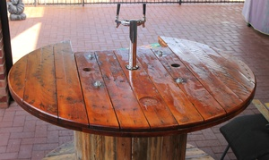 Timbar Taps: From $99 for Small or Big Woody Beer Bar Hire with Up to Two Kegs from Timbar Taps (From $150 Value)