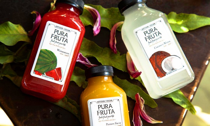 Pura Fruta - Pura Fruta: Three- or Five-Day Juice Cleanse at Pura Fruta (Up to 48% Off)