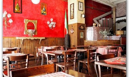 Menú para 2 o 4 con entrante, principal, postre y bebida desde 19,99 € en Stuzzichini