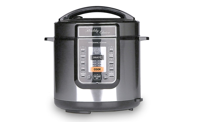 LENOXX: $79 for a Healthy Choice Multi-Function Pressure Cooker (Don't Pay $299)