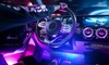 One or Two Sets of Interior Car LED Strip Lights