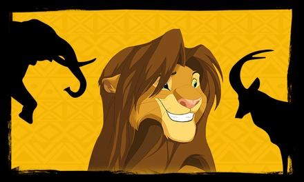 """Entrada para el musical """"El Rey de la Selva"""" el 30 de septiembre por 15 € en El rey de la Selva, el musical"""