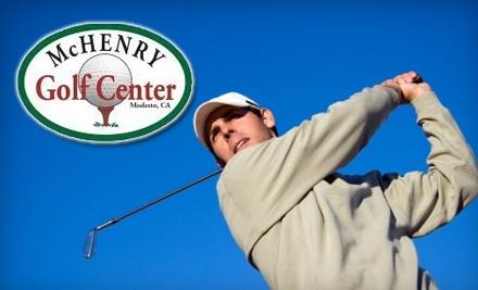 McHenry Golf Center - McHenry Golf Center in Modesto