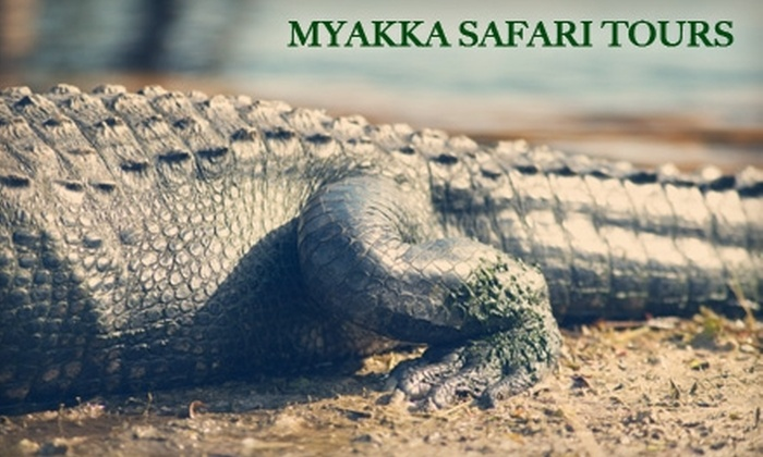 Myakka Wildlife Tours - Interior County: $12 for Two Adult Tickets for a Wildlife Boat Tour from Myakka Wildlife Tours in Sarasota ($24 Value)