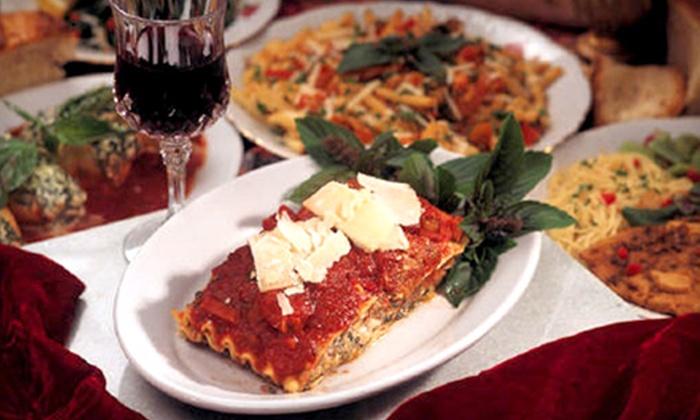 Salerno Pincente Ristorante - Hodgkins: $10 for $20 Worth of Italian Cuisine and Drinks at Salerno Pincente Ristorante