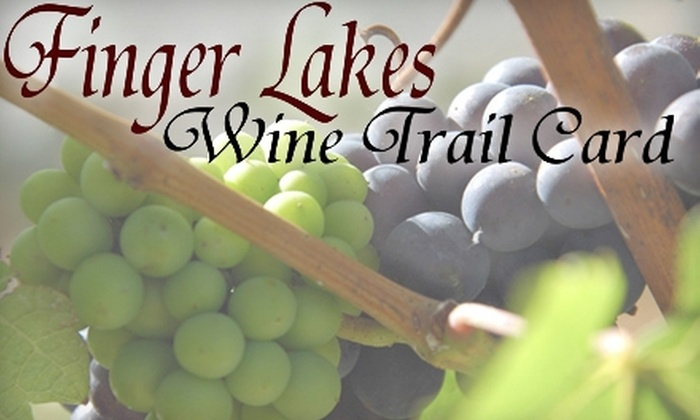 Finger Lakes Wine Trail - East Avenue: $30 for Wine Tasting and Pairing for Two and Wine Card from Finger Lakes Wine Trail ($70 Value)
