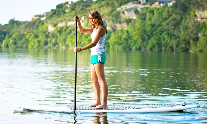 Paddle Surf LA - Venice: Two-Hour Stand-Up Paddleboard Rental, or One or Three Lessons from Paddle Surf LA (Up to 65% Off)