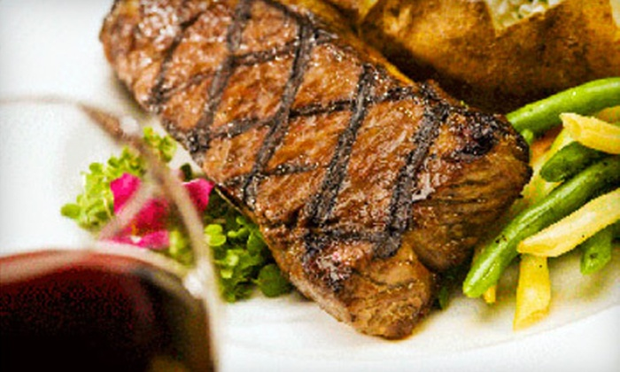 Wrought Iron Grill - Owosso: $20 for $40 Worth of Steaks, Burgers, Pizza, and Beer at Wrought Iron Grill in Owosso