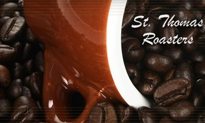 St. Thomas Roasters - Lower Paxton: $5 for $10 Worth of Coffee and Pastries at St. Thomas Roasters