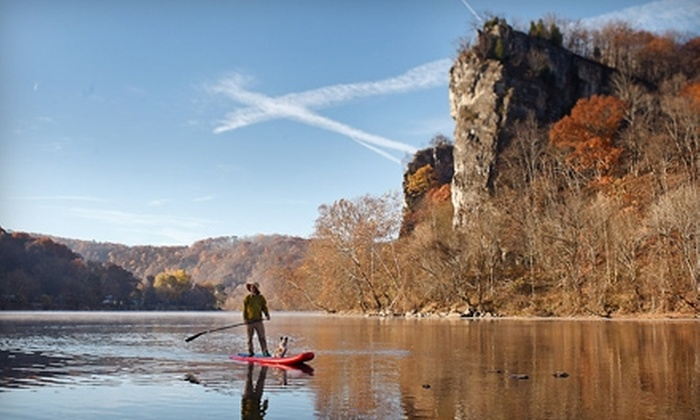 Tangent Outfitters - Multiple Locations: $69 for a Half Day, Stand-Up Paddleboarding Adventure ($139 Value) or $30 for a Tubing Trip for Six People ($60 value) with Tangent Outfitters