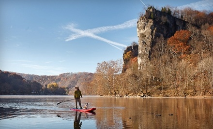 Tangent Outfitters: Half-Day Stand-Up Paddleboarding Adventure - Tangent Outfitters in Radford