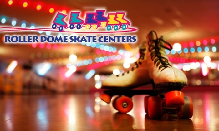 Roller Dome Skate Center - Multiple Locations: $20 for Admission and Skate Rental for Up to Five People at Roller Dome Skate Centers (Up to $42.50 Value)