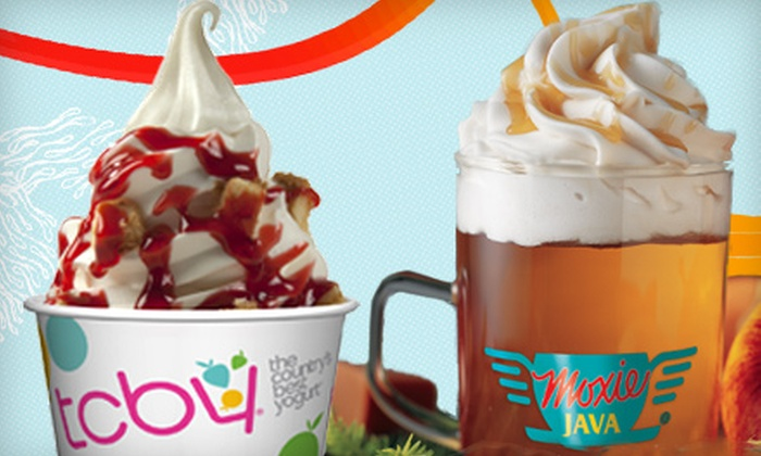 TCBY/Moxie Java - Eastside: $5 for $10 Worth of Frozen Yogurt and Coffee Treats at TCBY/Moxie Java