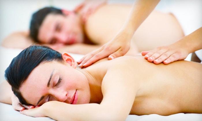 John James Salon - Crofton: 60-Minute Massage, Mani-Pedi, or Spa Package with 60-Minute Massage and Mani-Pedi at John James Salon in Crofton (Up to 64% Off)