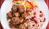 Mystic Jamaican Diner - Terry Sanford: Jamaican Cuisine at Mystic Jamaican Diner in Fayetteville (Up to 55% Off). Two Options Available.