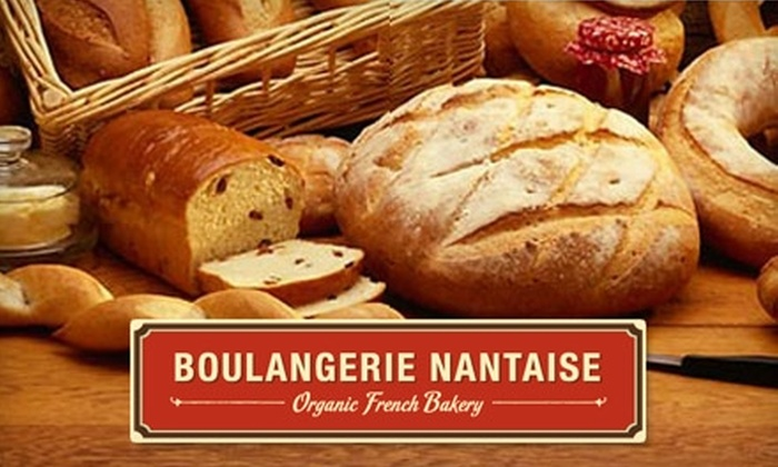 Boulangerie Nantaise - Belltown: $5 for $10 Worth of Organic, European-Style Baked Goods and Beverages at Boulangerie Nantaise
