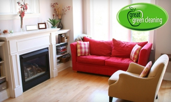 Great Green Cleaning - Gowanus: $79 for Four Hours of Green Home Cleaning from Great Green Cleaning ($170 Value)