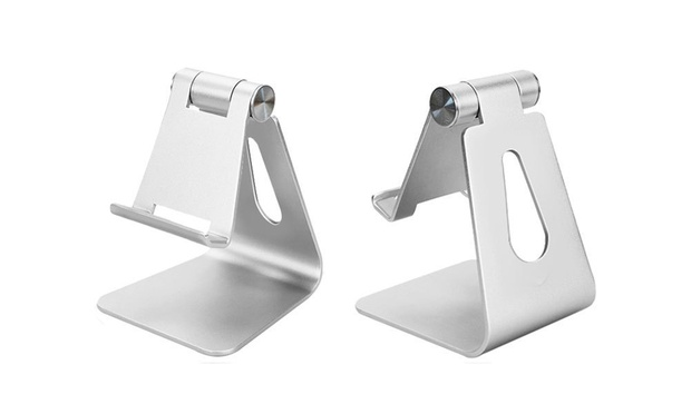 Stand for iPhone or iPad: Non Adjustable (From $12) or Adjustable (From $14)