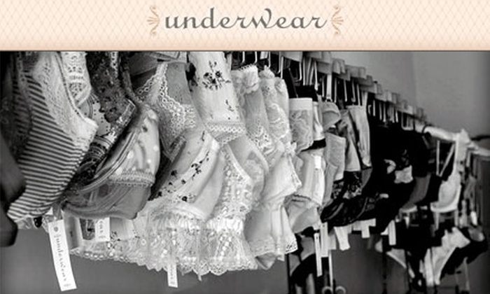 Underwear - Downtown: $25 for $50 Worth of Intimate Apparel from Underwear