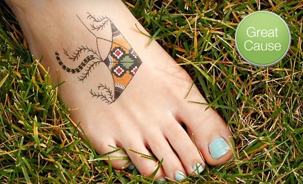 $10 Donation to The Temporary Tattoo Project - The Temporary Tattoo Project supporting Flying Kites in Brooklyn
