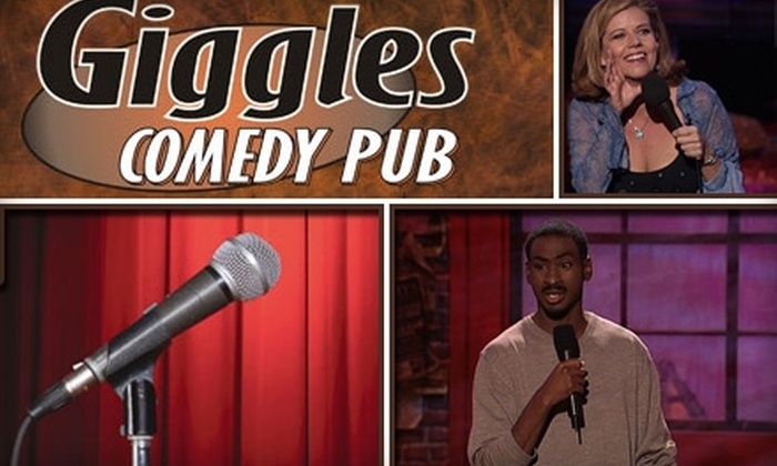 Giggles Comedy Pub - Brookfield: $10 for Six Weekend Tickets to Giggles Comedy Pub