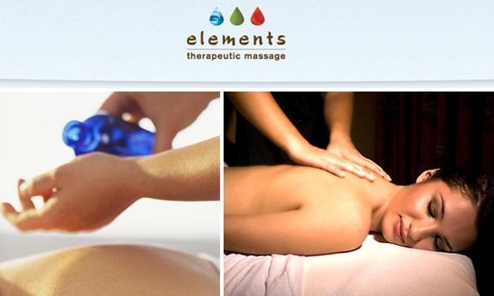 Elements Therapeutic Massage - Londontowne: $35 for One of Five 55-Minute Massages at Elements Therapeutic Massage ($79 Value)