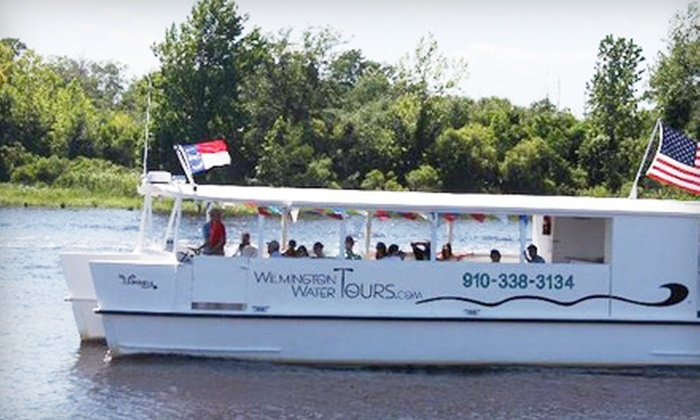 Wilmington Water Tours - Central Wilmington: $15 for a BlackWater Adventure Boat Tour, Plus a $5 Credit at the Gift Shop, from Wilmington Water Tours ($25 Value)