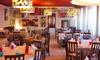 Osteria di Via Marconi - Almenno San Salvatore: Menu di mare da 4 portate con gamberoni, Prosecco e calice di vino per 2 o 4 persone all'Osteria di Via Marconi