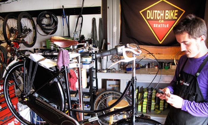 Dutch Bike Co. Seattle - Adams: Standard or Comprehensive Tune-Up at Dutch Bike Co. Seattle
