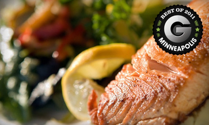 Mad Jacks Sports Cafe - White Bear Lake: Contemporary Meal with Wine and Dessert for Two or Four at Mad Jacks Sports Cafe in Vadnais Heights (Up to 51% Off)