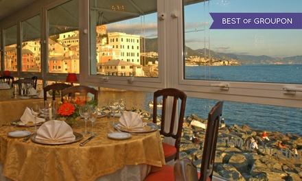 Vittorio al Mare: crudité e Champagne