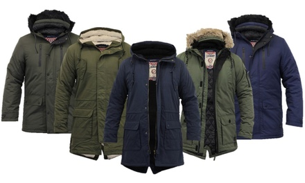 Tokyo Laundy Hooded Parka Jacket from £32.99 With Free Delivery