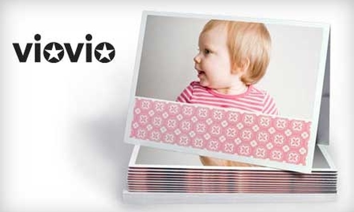 """Viovio: $20 for 20 7""""x5"""" Frame-Ready Photo Greeting Cards with Envelopes from Viovio"""